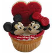 Mickey &Minnie Mouse Cupcake
